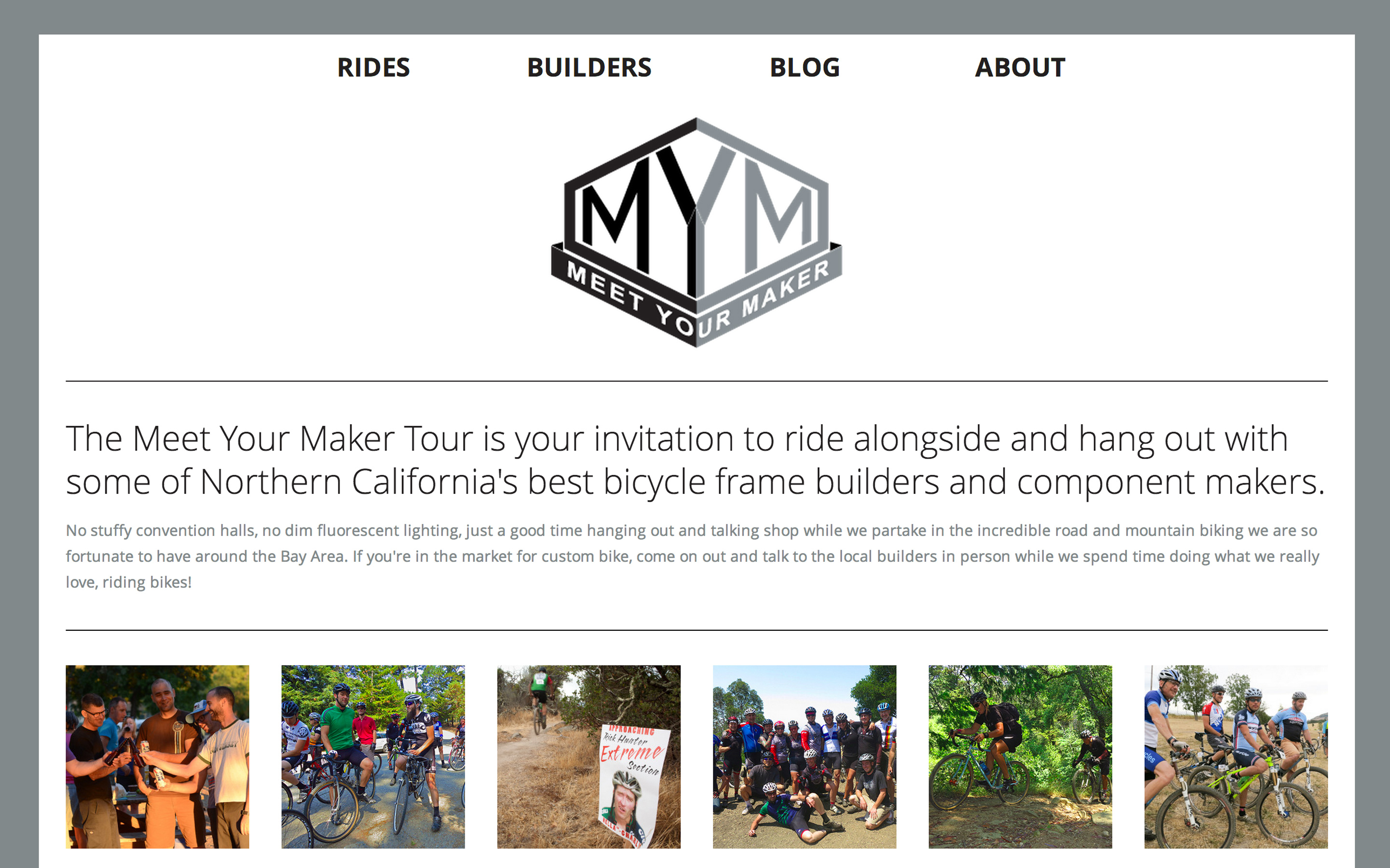 Meet Your Maker Tour - Desktop View