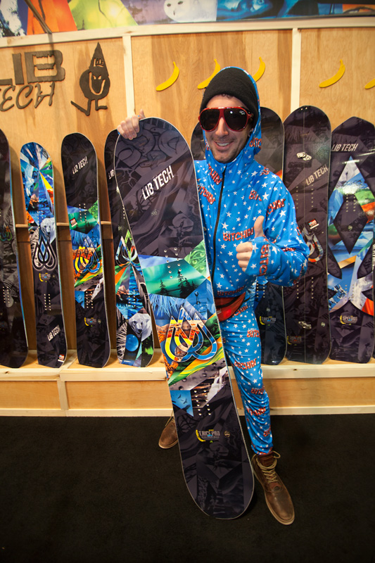 This Weirdo chooses the new Lib Tech T.Rice Pro as his all-mountain/freeride stick.