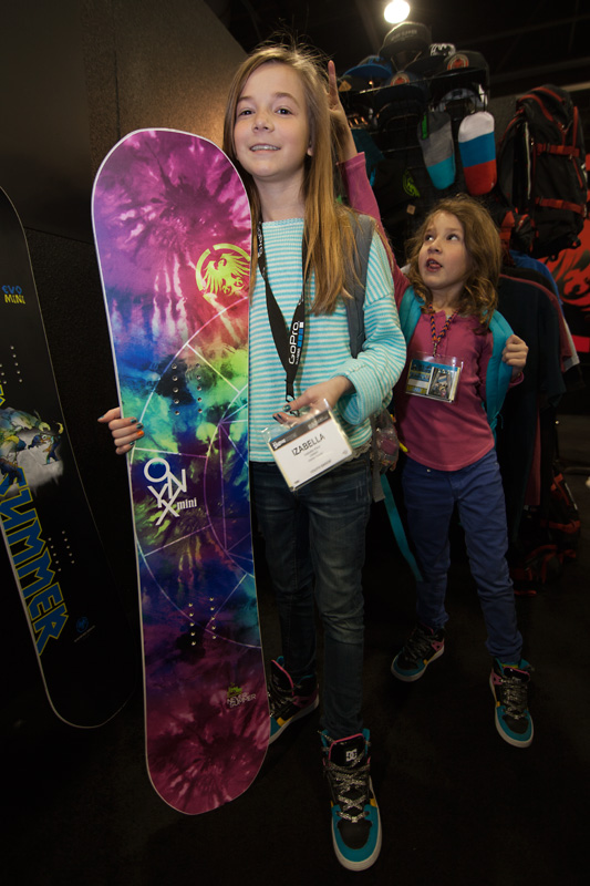 Never Summer kids Onyx Mini. My girls wanted to take this one home!