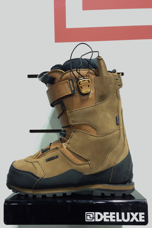 "The Deeluxe Spark Summit boot features leather shell and lining, and BOA lacing system. My pick for ""Best in Show - Boots"""
